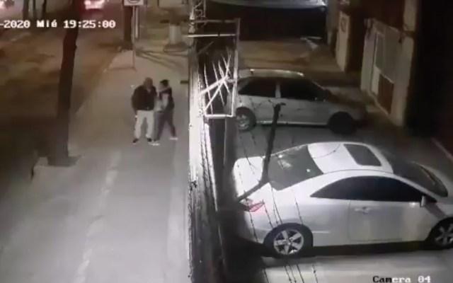 #Video Asaltan a mujer en menos de 40 segundos en Azcapotzalco - Captura de pantalla