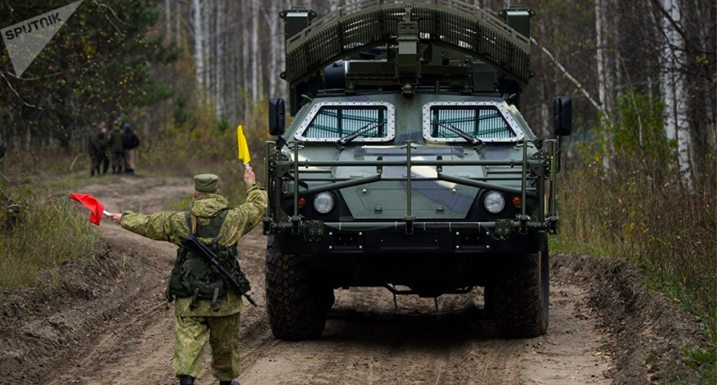 Ejército ruso recibe el 2020 con fuentes portátiles de energía solar - Ejército ruso recibe el 2020 con fuentes portátiles de energía solar