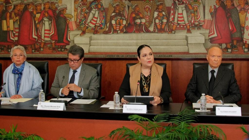 Senado Justicia Gertz Manero