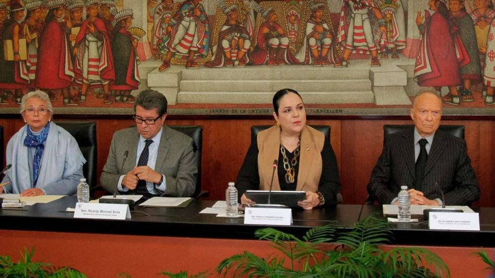Aplazan presentación de reformas de justicia para febrero - Senado Justicia Gertz Manero
