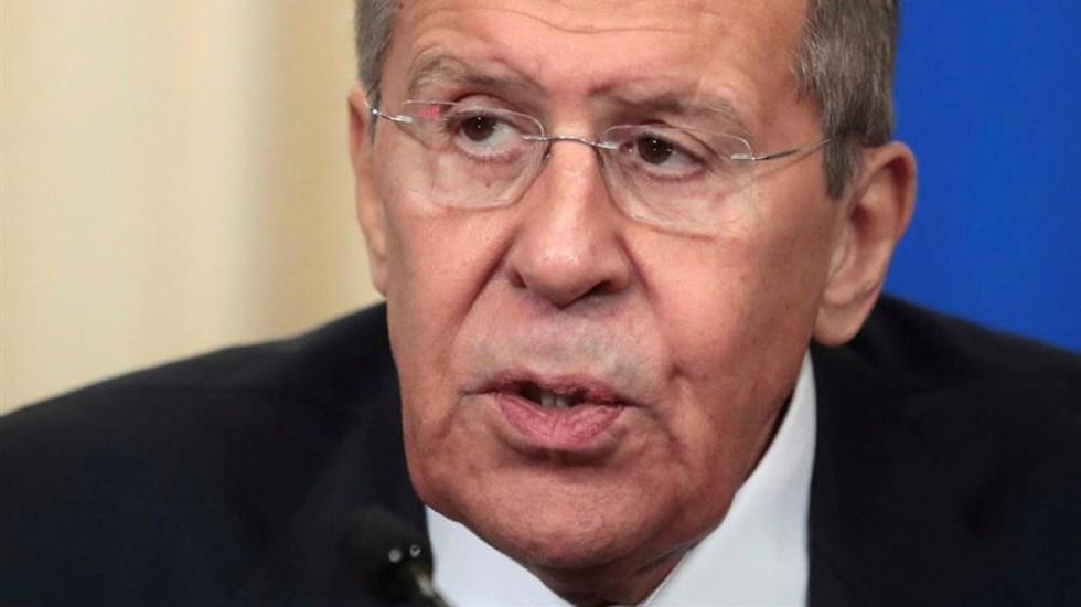 Rusia afirma no tener intención de intervenir entre EE.UU. e Irán - Serguéi Lavrov,ministro de Relaciones Exteriores de Rusia. Foto