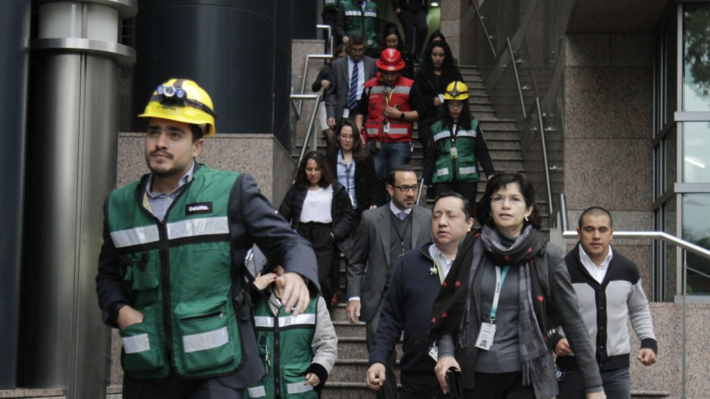 Funcionaron 98% de altavoces durante Macrosimulacro en la Ciudad de México - Foto de Notimex