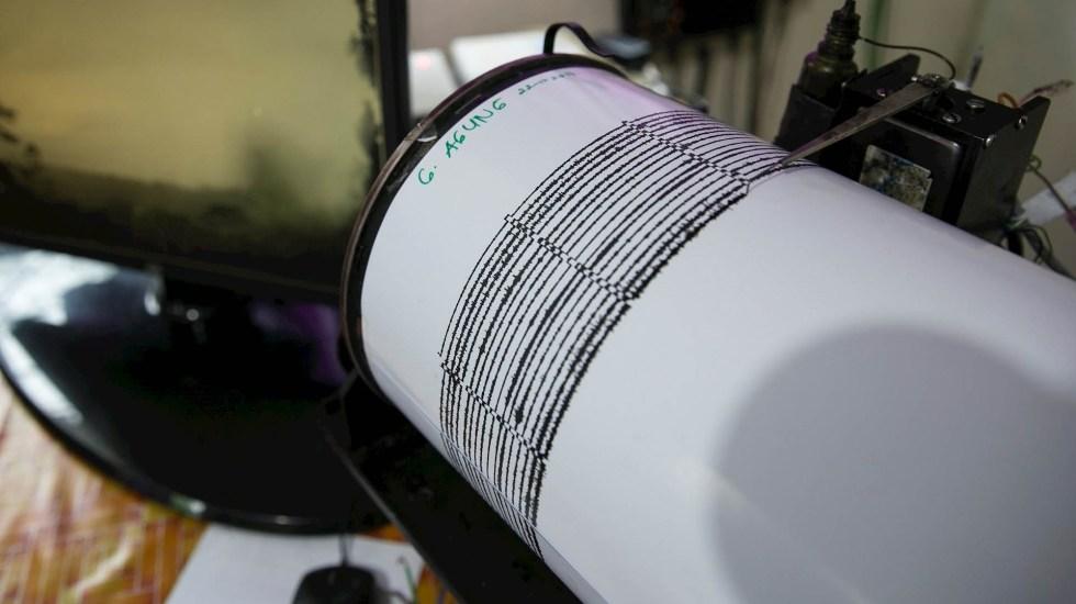 Se registra sismo de magnitud 5.3 en Oaxaca - Sismos sismógrafo terremoto temblor