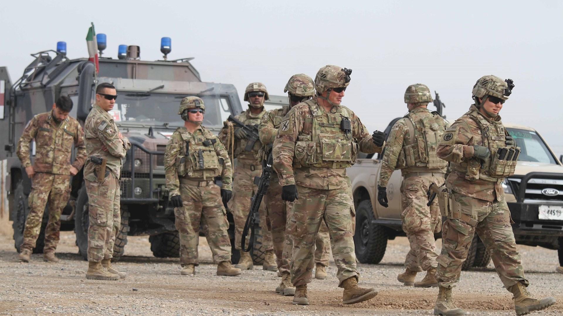 EEUU anuncia la reubicación de sus tropas en Irak
