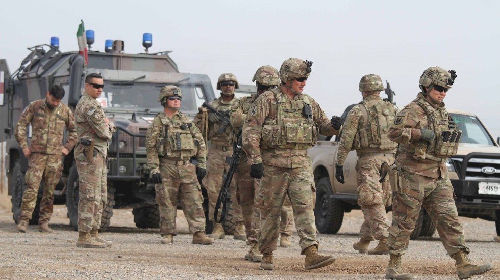 OTAN sigue a Estados Unidos y retirará tropas de Afganistán - OTAN Está previsto que hasta 3.500 soldados viajen en los próximos días a Kuwait, una de las sedes del Mando Central de las Fuerzas Armadas de EE.UU. (CENTCOM), desde donde se coordinan las operaciones militares en Irak y Afganistán. EFE/Jalil Rezayee/Archivo