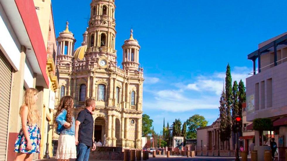 Inseguridad y falta de promoción, los retos del turismo en México - Turistas en Aguascalientes. Foto de @sectur_mx