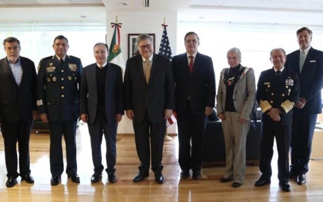México y EE.UU. delinean plan para combatir tráfico de armas y drogas - William Barr Estados Unidos