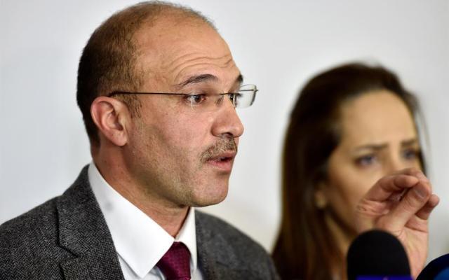 Confirman primer caso de coronavirus en Líbano - El ministro libanés de Sanidad, Hamad Hasan. Foto de EFE.