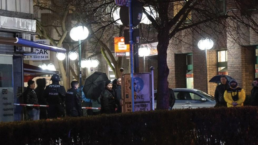 Tiroteo deja dos heridos en Alemania - Foto de SWP.DE