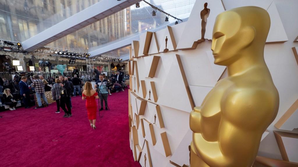 Todo listo para los Premios Óscar 2020 - Alfombra roja de los Premios Óscar. Foto de EFE