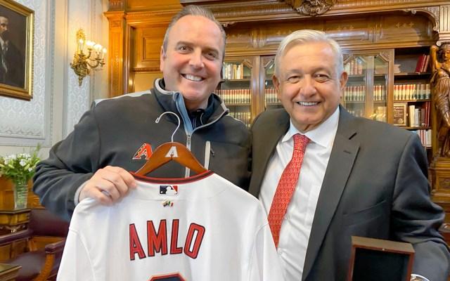 AMLO se reúne con director de los Diamondbacks de Arizona - AMLO se reúne con director de los Diamondbacks de Arizona