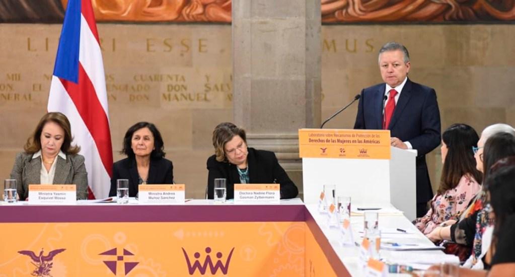 Advierte Arturo Zaldívar que el tipo penal de feminicidio no puede desaparecer - Arturo Zaldívar, ministro presidente de la SCJN. Foto de @SCJN