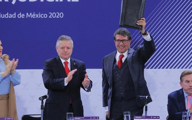 Presidente de la SCJN entrega al Senado propuesta de Reforma Judicial - Foto de Notimex