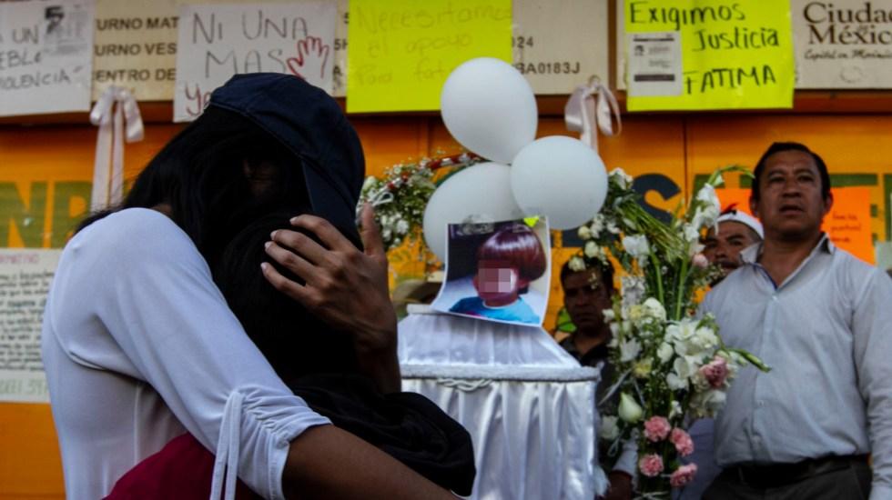 AMLO reconoce a tía de presunto asesino de Fátima por captura de feminicidas - AMLO reconoce a tía de presunto asesino de Fátima por captura de feminicidas