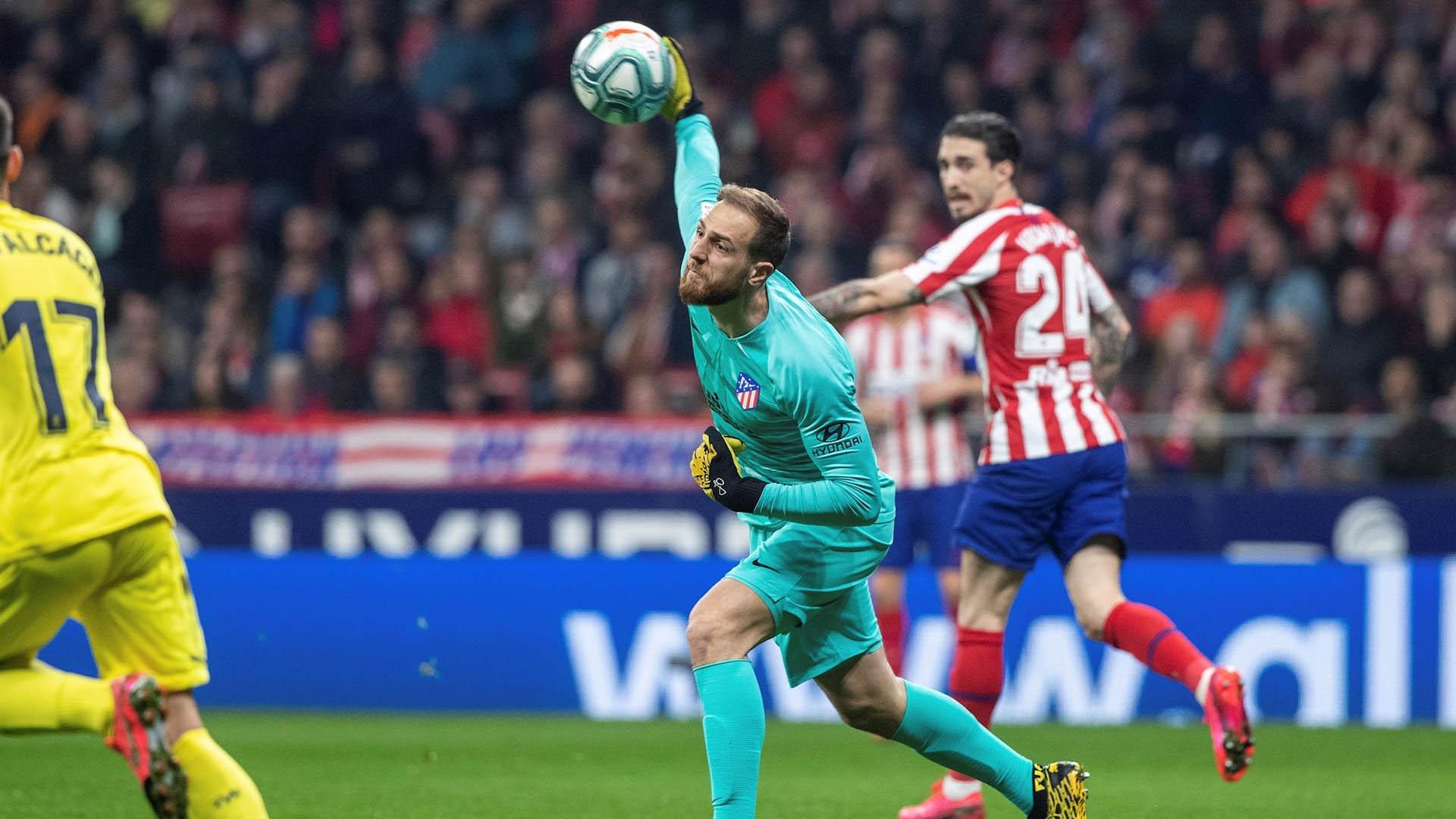 Atlético de Madrid partido Villareal