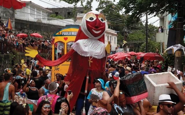 Iniciaron las celebraciones por el comienzo del carnaval de Río de Janeiro - Foto de EFE