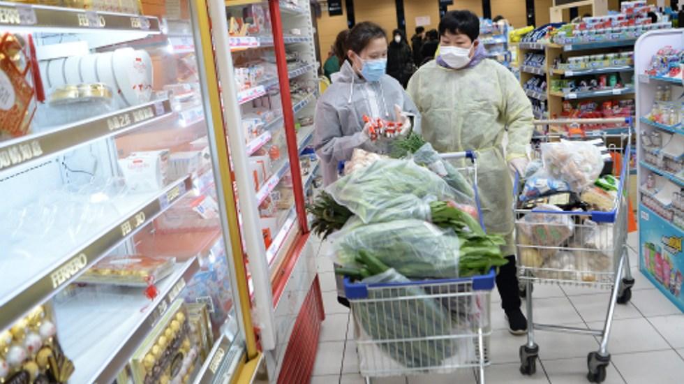 Coronavirus y Año Nuevo Lunar elevan la inflación china a máximos desde 2011 - Foto de EFE