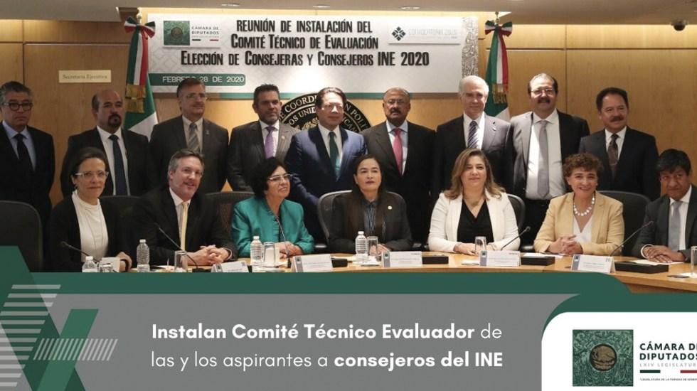 Instalan Comité Técnico de Evaluación del INE en San Lázaro - Foto de Cámara de Diputados