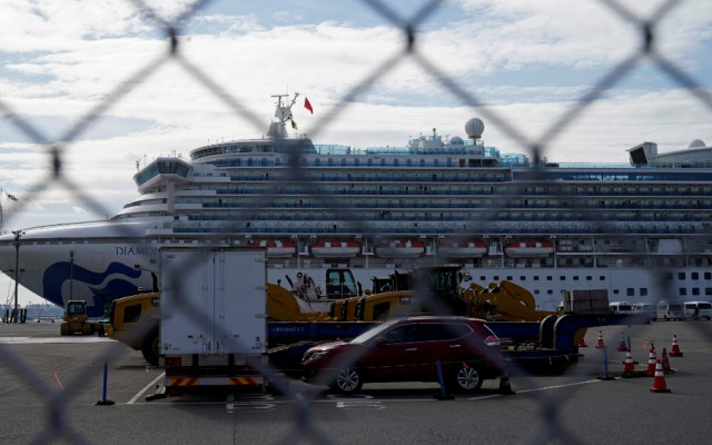 Reportan otras 39 personas con Covid-19 en crucero en Japón - Foto de EFE