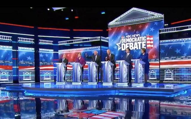 Cambio climático y desigualdad protagonizan el debate Demócrata - Debate demócrata Estados Unidos 2 19022020