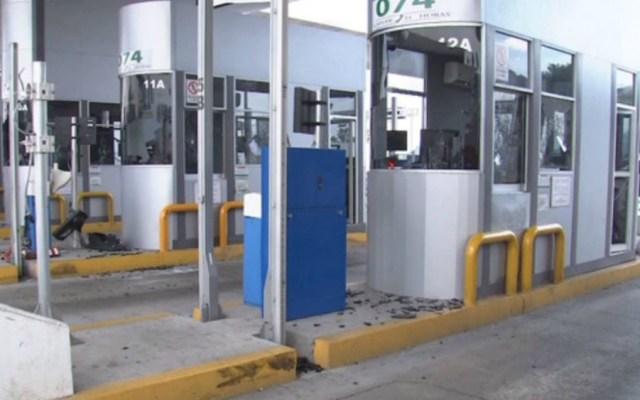 Reabren circulación en la México-Cuernavaca tras bloqueo de encapuchados - Foto de Foro TV
