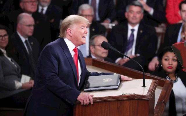 Las frases destacadas del discurso del Estado de la Unión de Trump - Donald Trump Estado de la Unión Estados Unidos