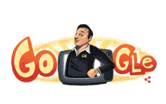 Google celebra natalicio de Chespirito con doodle - Google celebra natalicio de Chespirito con doodle