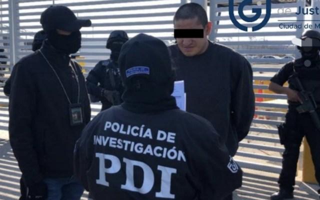 Vinculan a proceso a 'El Lunares' y 'El Santero' por delincuencia organizada - Detención de 'El Lunares' en la Ciudad de México en febrero pasado. Foto de FGJ CDMX
