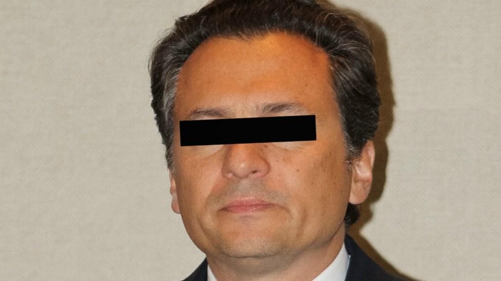 Por COVID-19, Emilio Lozoya firmó por correo electrónico el libro de procesados - Foto de Notimex