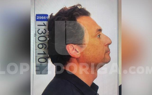 #Exclusiva Número de ficha y fotografía de Emilio Lozoya en la prisión de Málaga, España - Número de ficha y fotografía de Emilio Lozoya en la prisión de Málaga
