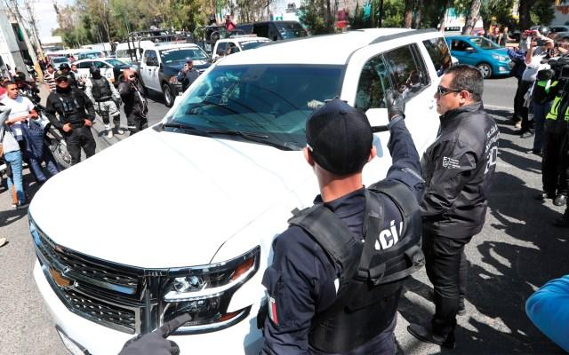 Mario 'N' tenía denuncias por violencia intrafamiliar, asegura madre de Giovana 'N' - Este viernes, Giovana 'N' y Mario 'N' fueron trasladados a la cárcel en un operativo de seguridad. Foto de EFE