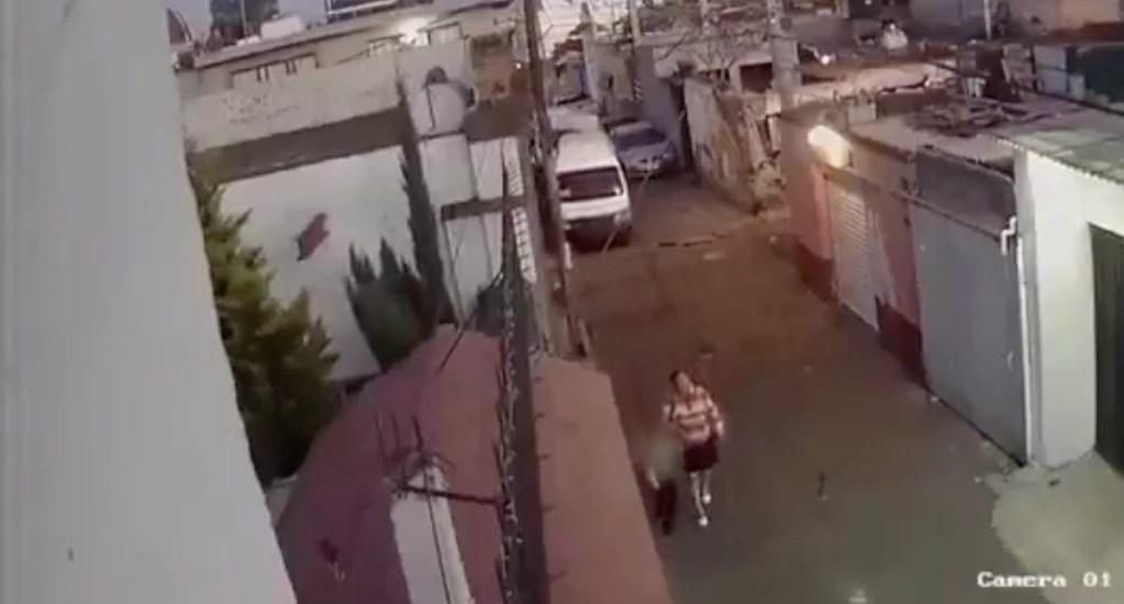 #Video Captan a mujer responsable del rapto de Fátima - Fiscalía video Fátima menor 2