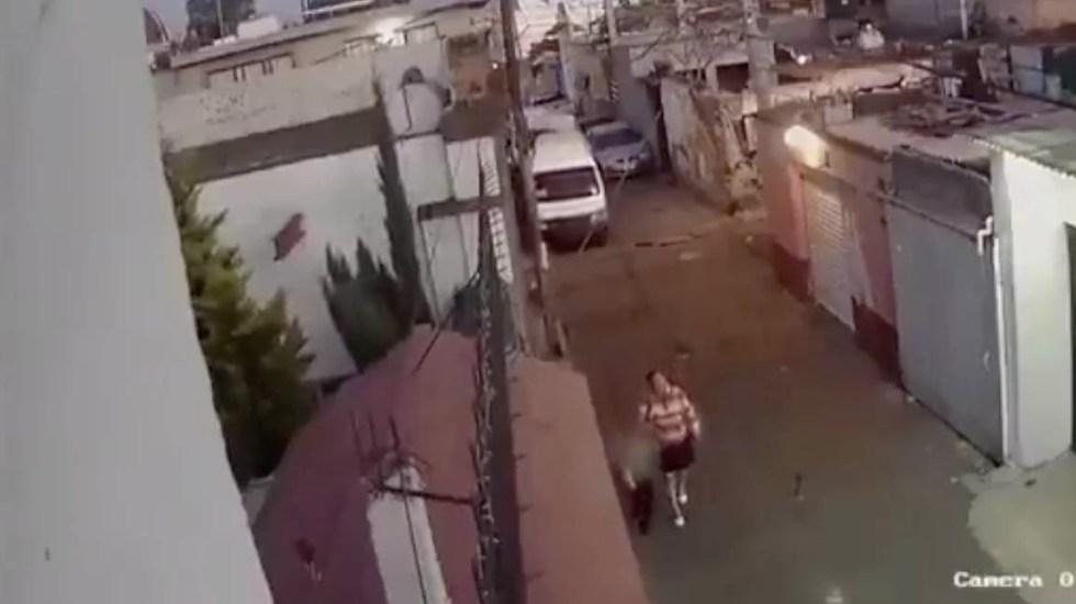 Mujer identificada por asesinato de Fátima era conocida de la familia: Sheinbaum - Fiscalía video Fátima menor 2