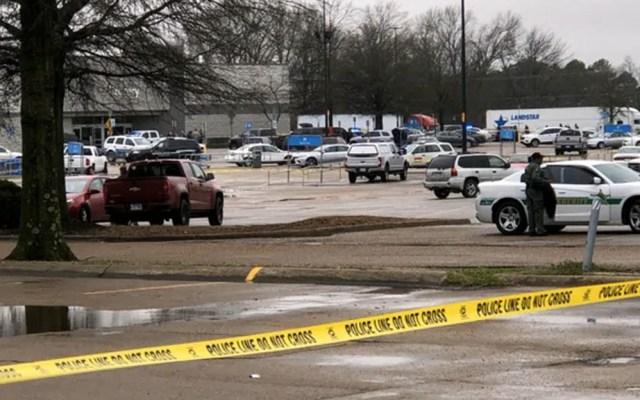 Policías abaten a tirador en Arkansas - Forrest City Arkansas tiroteo disparos Walamart