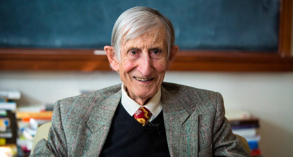 Murió Freeman Dyson, legendario físico matemático - Freeman Dyson. Foto de @the_IAS