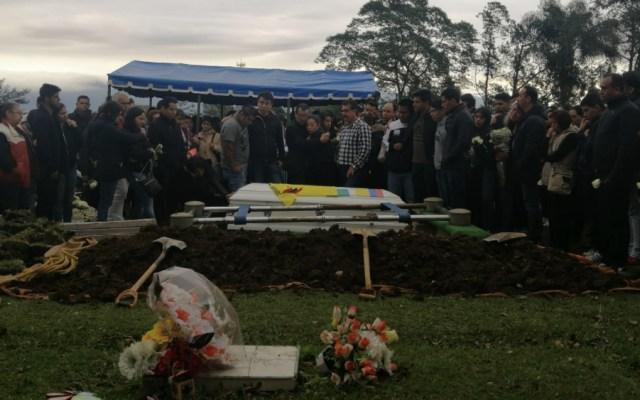 Sepultan en Veracruz a estudiante de medicina asesinado en Puebla - Foto de @PEDRO_REPORTERO