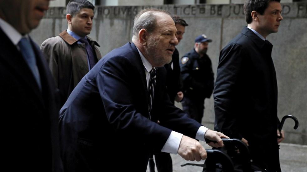 Defensa de Harvey Weinstein trató de desestimar testimonios en su contra - Foto de EFE