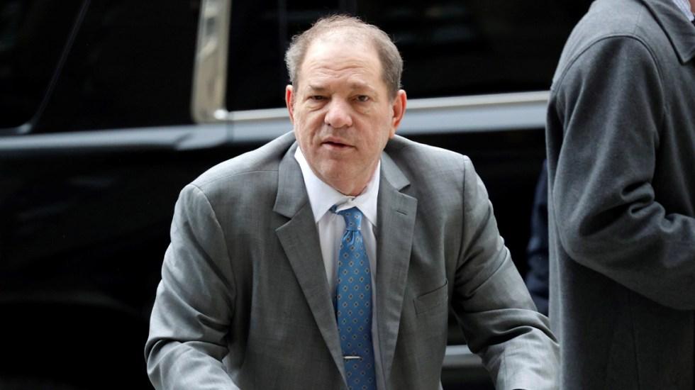 Jurado del caso contra Harvey Weinstein se retira a deliberar - Jurado del caso contra Harvey Weinstein se retira a deliberar