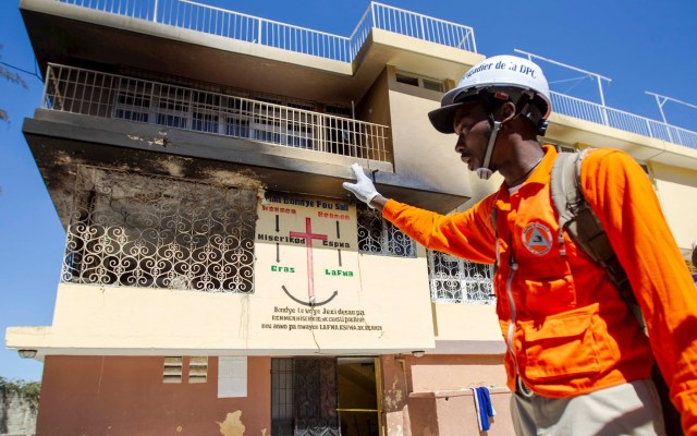Incendio en orfanato de Haití deja 15 niños muertos - Incendio Haití niños quemados muertos 2