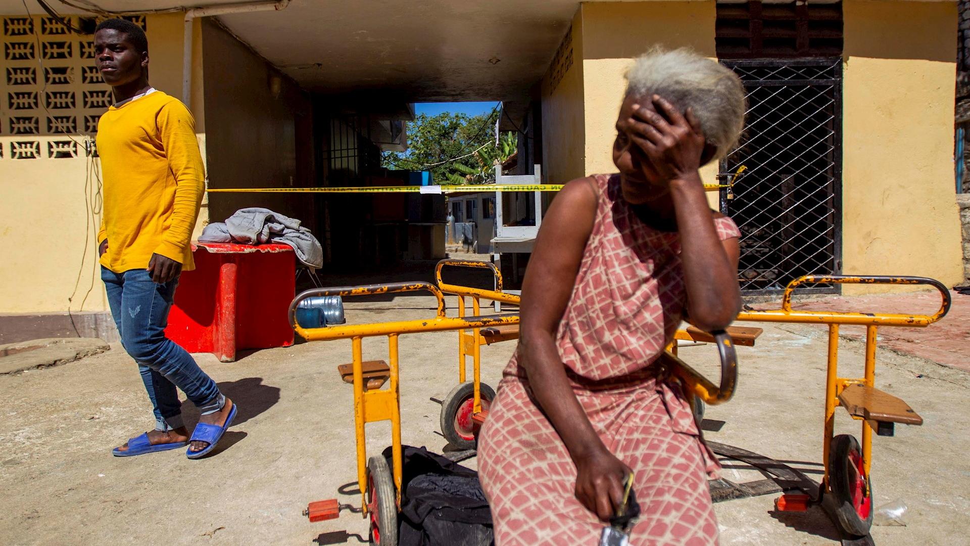 Incendio Haití niños quemados muertos