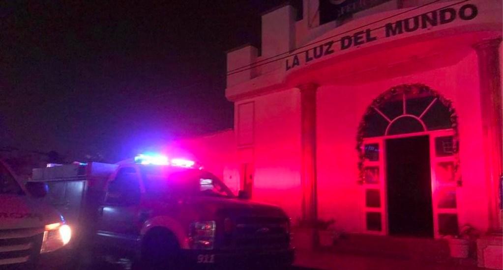 Cortocircuito provoca incendio en iglesia de La Luz del Mundo en Coatzacoalcos, Veracruz - En Coatzacoalcos, Veracruz, un corto circuito ocasionó un incendio en una iglesia perteneciente a la comunidad de La Luz del Mundo