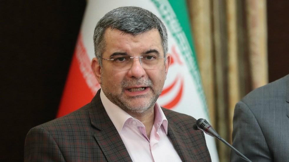 Viceministro iraní de Salud está contagiado de Covid-19 - Foto de EFE