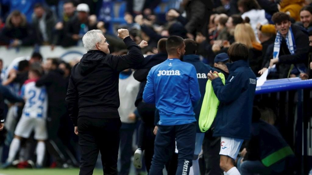"""""""La gente se merecía algo así después del Getafe"""", expresa Aguirre tras triunfo del Leganés - Leganés Aguirre Real Sociedad partido futbol"""