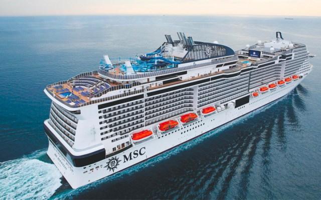 Crucero Meraviglia no tiene autorización para atracar en Cozumel; espera inspección sanitaria - Foto de Facebook