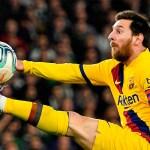Messi es el primero en llegar al 'doble-doble' en la liga española esta temporada - Foto de EFE