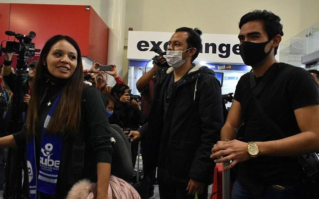 Mexicanos procedentes de Wuhan llegan a Francia - Mexicanos repatriados desde Wuhan, China. Foto de EFE