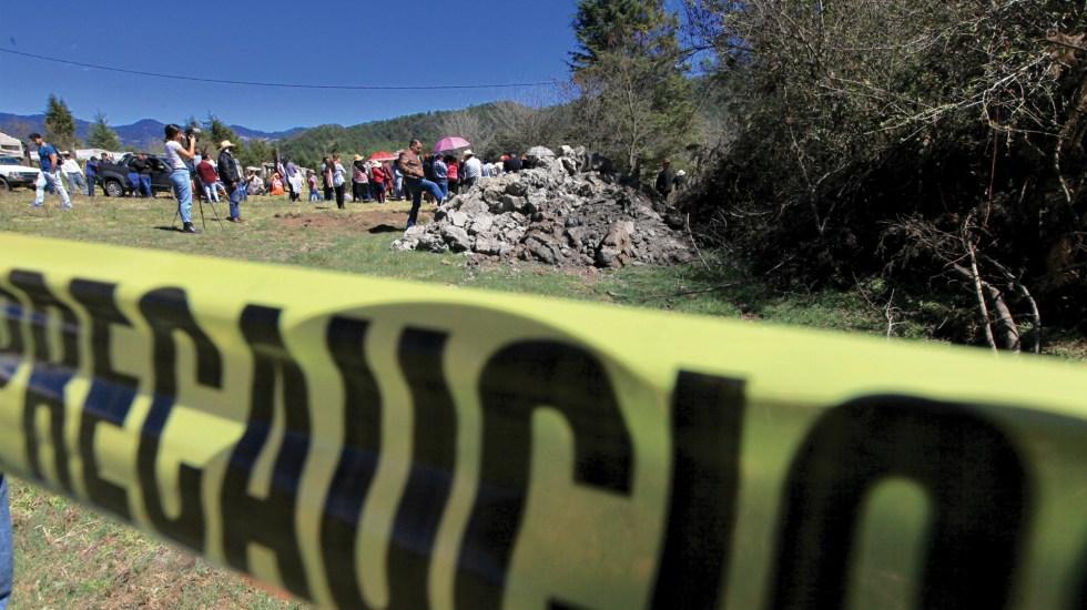 Suman 61 mil 564 homicidios dolosos en lo que va del sexenio de AMLO - Foto de Notimex