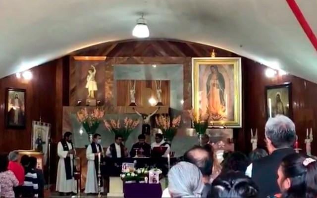Recuerdan con misa a Fátima; su mamá no asistió - misa Fátima