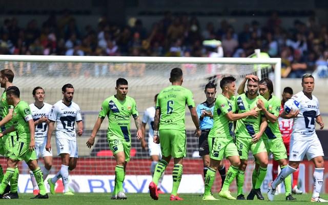 Pumas pierde el invicto contra Morelia - Pumas vs Morelia