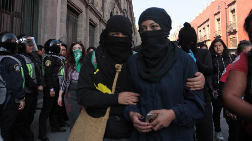 SSC desplegará operativo con mil 232 policías para marcha feminista - Foto de Notimex